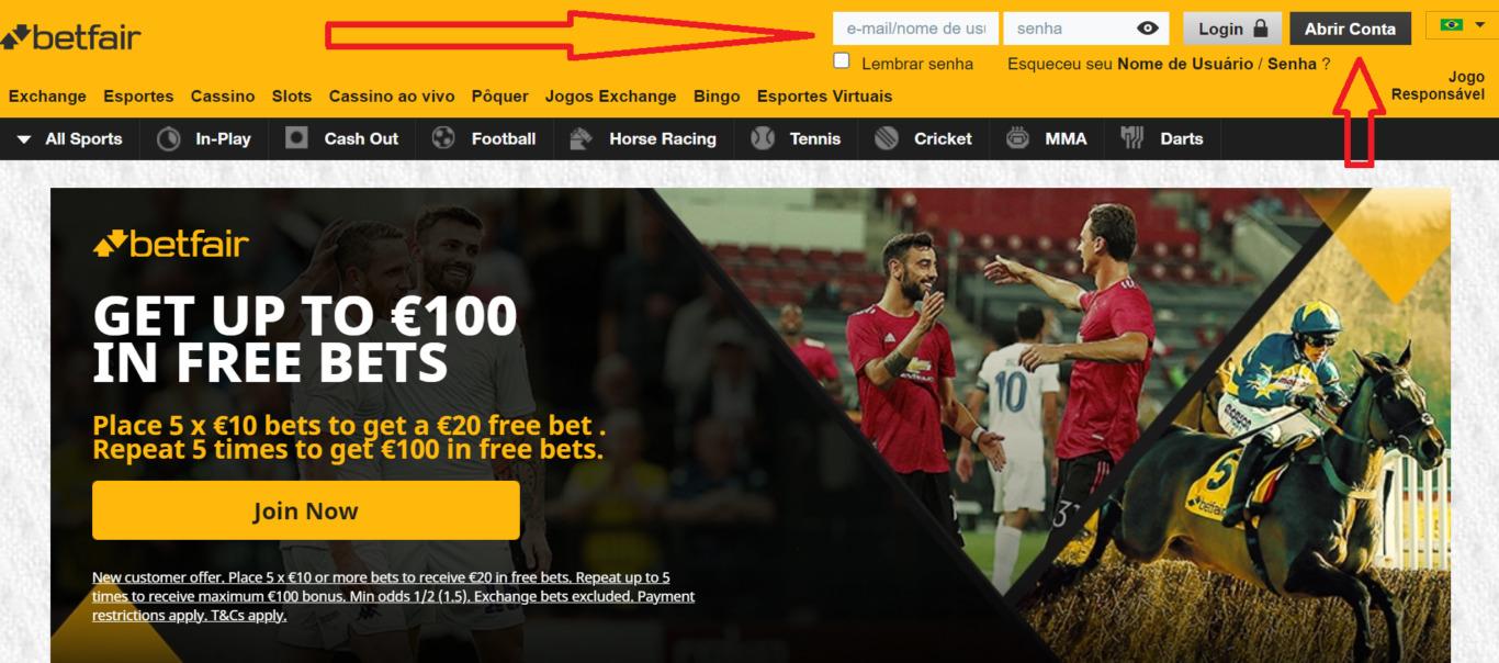 Principais benefícios apostas online código promocional de BetFair